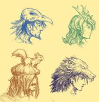 Druid bunch by Pavanz