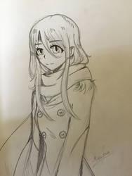 Random girl by kelinchuaKigu