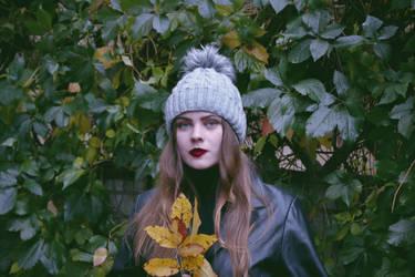 Autumn, leaves, scars by AlexandrinaAna