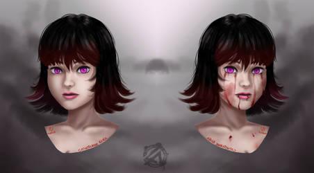 Pandora portrait by CatherinneKiura