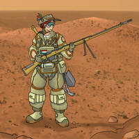 Space Boer by ColorCopyCenter