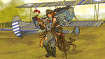 The Warlord's Aviatrix by ColorCopyCenter