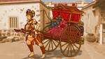 Rickshaw maiden by ColorCopyCenter