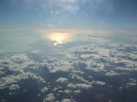 Aeroplane Sky Shot by joshcartledge