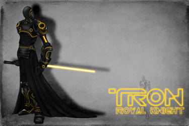 Tron Royal Knight by justbones02