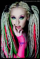 Neon dreads 2 by SaRaToNiN