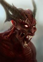 Devil by kingofdaveness