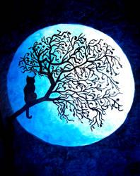 Blue Moon by BlueMoonArt2000