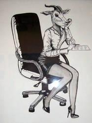 the secretary by mollyslips