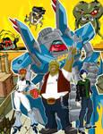 Megas XLR: 5 Years of Rock On by grimphantom