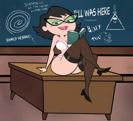 Commission: Ms. Butterbean's Private Class by grimphantom