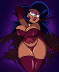 Halloween Commission: Dhampir Milf by grimphantom