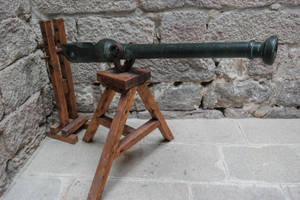 Castle Stock (45) Cannon by sirkeht