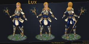 Lux - League of Legends by jimficker