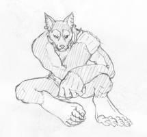 Grimgar of Fantasy and Ash - Kobold  sit by KeIIion