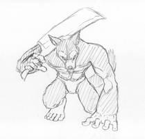 Grimgar of Fantasy and Ash - Kobold Warrior by KeIIion