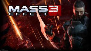 Mass Effect 3 Shepard HD by noodle98
