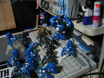 tachikoma invasion by labrynth