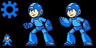 Blue Metal Hero: Megaman by hansungkee