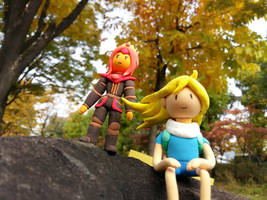 Finn The Human And Flame Princess Part 2 by hansungkee