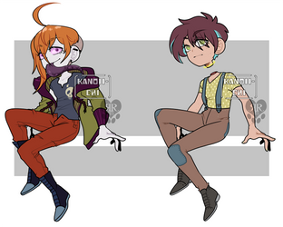Collab Halloween Adopts: 1 LEFT by RottingRoot