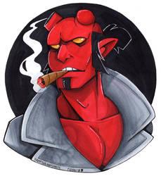 Hellboy by RottingRoot