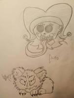 Krampus Sketches by cometgazer379