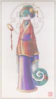 Lady of the Mind by kureejiilea