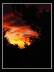 Sky's Afire by kureejiilea