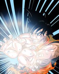 Goku Kamehameha by Dalarminus