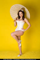 Classic Pinup Parasol by MAdams06