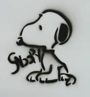 Snoopy Stencil by Gordorca
