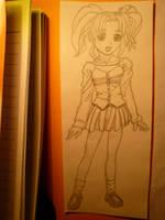 school girl by bookwormy606