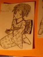 kimono girl by bookwormy606