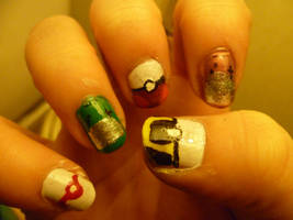 Gamer Nails 2 by bookwormy606