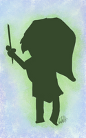 Day 15 - Link Silhouette by bookwormy606
