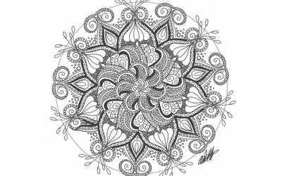 Day 25 - Mandala Design by bookwormy606