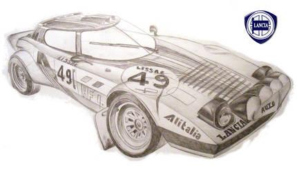 Lancia Stratos by ewbj