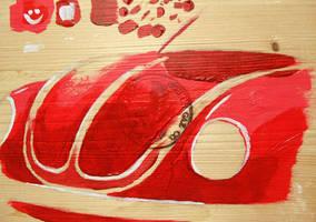 Beetle painting by ewbj