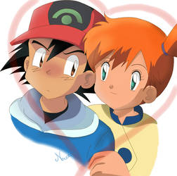 Ash and Misty Advanced by Neica-92