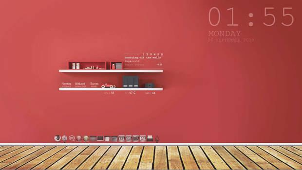 Red Shelves_ by boyhumbug