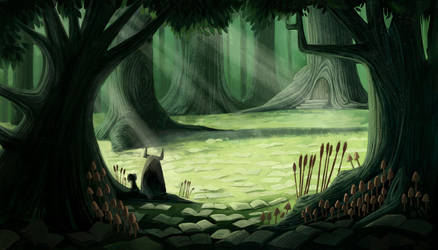 Storybook Forest by betsybauer