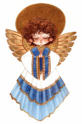Christmas Angel by betsybauer