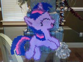 Large Perler Bead Art: Full Body Twilight Sparkle by Perler-Pony