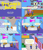 Steamed Hams But It's The Arcade Game by artfonproduction