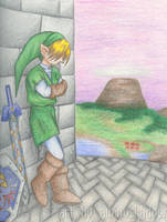 Looking out over Hyrule by albinoshadow