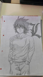 Death Note L Lawlight  by HoneyButterCrew