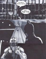 Batman Vs Bane Part 1 Page 1 by DerrickClarke