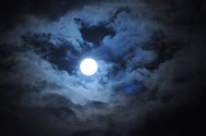 Full Blue Moon by ILICarrieDoll