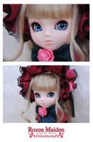 Rozen Maiden Shinku Close-Up by ILICarrieDoll